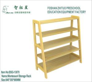 Preschool Art Display Rack