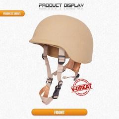 Ballistic Pasgt Helmet Bolt-Less Which V50=696m/S pictures & photos