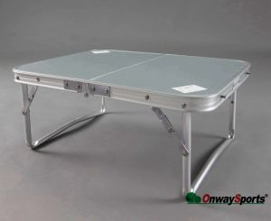 Mini Aluminum Folding Table in Suitcase-Style