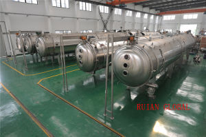 Belt Vacuum Continuous Drying Machine for Food Additive pictures & photos