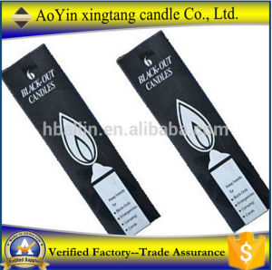 Factory Price 15g White Straight Candle for Africa Market pictures & photos