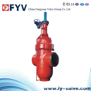 API 6D Cast Steel Slab Gate Valve 600# pictures & photos