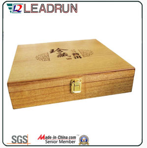 Tea Wooden Gift Case Souvenir Box with EVA Blister Foam Insert (YL31) pictures & photos