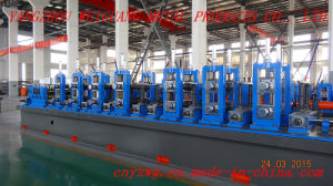 Wg114 High Frequency Steel Pipe Production Line pictures & photos