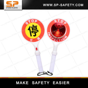 Safety Hand Road Stop Signs pictures & photos