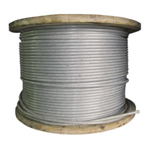 AISI Steel Wire Rope 7X37 pictures & photos