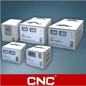 CNC SVC Series High Accuracy Full-Automatic AC Voltage Stabilizer/Regulator pictures & photos