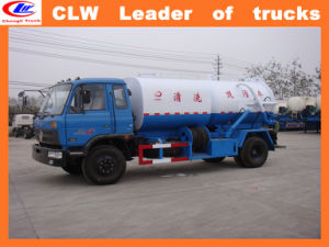 Dongfeng 8 Wheeler 4*2 Sewage Sucking Truck pictures & photos