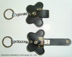 Fashion Design Leather USB Flash Drive USB Driver pictures & photos