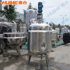 Stainless Steel 500L Agitated Reactor for Sale pictures & photos