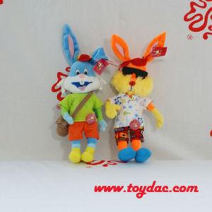 Plush Movie Dress Toy Rabbit pictures & photos