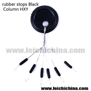 Fishing Rubber Stopper Black Column pictures & photos