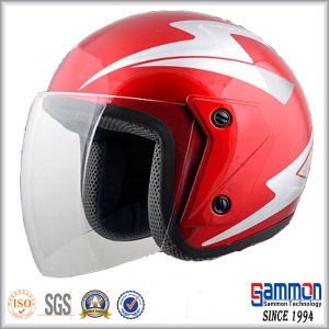 Durable High Quality Red Scooter Helmet (OP212)
