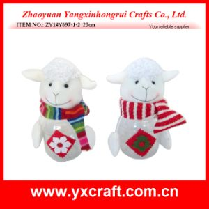 Christmas Decoration (ZY14Y697-1-2) Christmas Promotion Sheep Candy Bottle pictures & photos
