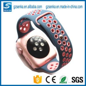 High Quality Silicone Watch Band for Apple Watch pictures & photos