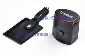 World Travel Adaptor with USB Charger for Christmas Gifts, Valentine′s Gifts pictures & photos
