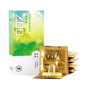 12PCS Feel Thin Condom with Plant Extracts Mint Condom Latex Rubber Condom Loving Condom pictures & photos