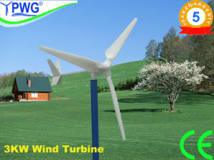 Hye 3000W DC12/24V 3 Blades Maglev Wind Turbine Generator Wind Power China Wind Turbine Manufacturer pictures & photos