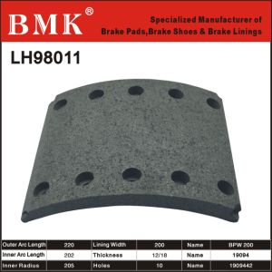 Advanced Quality Brake Linings (LH98011) pictures & photos
