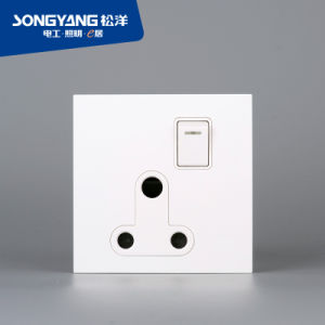 Electric Switch White Series 13A Wall Socket pictures & photos