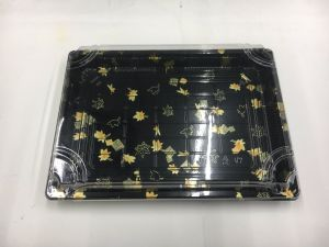 Disposable Printing Plastic Party Sushi Box pictures & photos