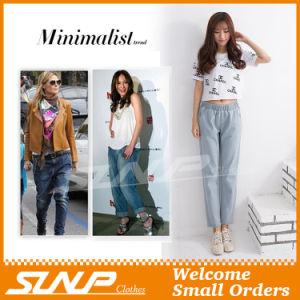 Europe Style Woman Girls Denim Jeans Nine Pants