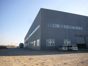 Prefabricated Light Steel Structure Workshop with Cage Ladder (KXD-SSW1145) pictures & photos