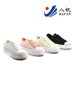 Women Shoes Lace Shoes Lady Shoes (Bfm0329) pictures & photos