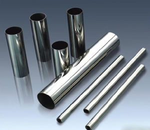 Hot Promotion 304 Stainless Steel Pipe Hairline Finish Made in China pictures & photos