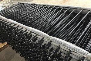 Hot Sale Powder Coated Cheap Aluminum Fence Panel