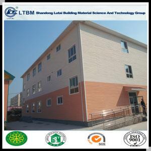 Wood Grain Cement Panel Lightweight Exterior Siding pictures & photos