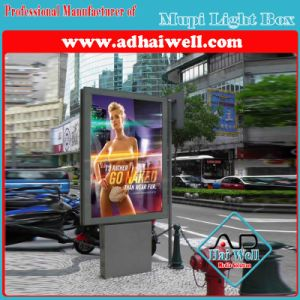 City Mupi Scrolling Backlit LED Strip Advertising Display Light Box pictures & photos