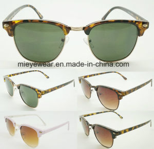 2017 New Sunglasses with Metal Combinateion (40040) pictures & photos