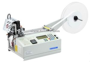 Automatic Webbing Cutting Machine (Hot and Cold Knife) pictures & photos
