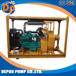 Self Priming Pumps with Trailer for City Dredging pictures & photos
