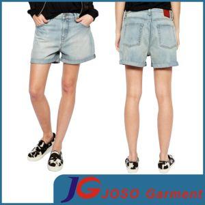 Women Light Blue Fashion Denim Shorts (JC6092) pictures & photos