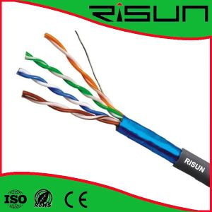 FTP Cat5e Cable Use for Outdoor Direct Burial pictures & photos
