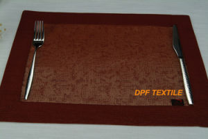 Eco-Friendly Restaurant PVC Table Mat Dinner Mat (DPR6109) pictures & photos