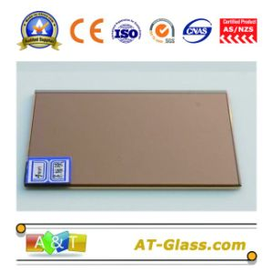4, 5, 6, 8, 10mm Bronze Reflective Float Glass/Coated Glass/Tinted Glass pictures & photos