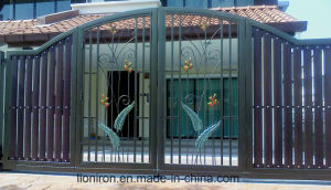 Iron Gate Models Swing Door China Factory pictures & photos