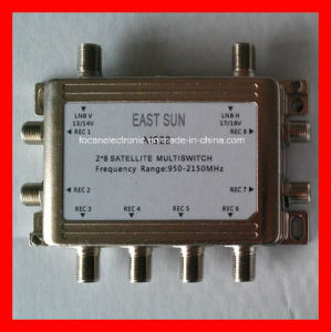 CATV Splitter, Satellite Splitter with 2ways, 3ways 4ways, 6ways and 8ways 5-1000MHz, 5-2500MHz (FC-16886) pictures & photos