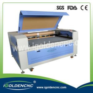 80W 100W Fabric / Acrylic / Plastic / Wood CO2 Fabric Laser Cutting Machine for Hot Sale pictures & photos