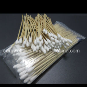 Medical Wooden Stick 6′′ Cotton Applicator /Cotton Bud pictures & photos