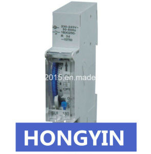 DIN Rail 16A 24 Hour with Battery Time Switch pictures & photos