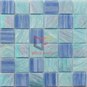 Mix Blue Color Glass Swimming Pool Mosaic (CSJ118) pictures & photos