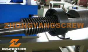 Bimetallic 80/156 Conical Twin Screw Barrel pictures & photos