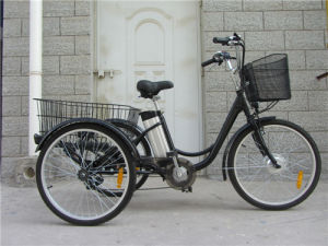 Electric Tricycle with 24 Inch Tire pictures & photos