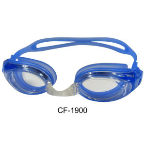 Silicone Swimming Goggles with CE and FDA Certificates (CF-1900) pictures & photos