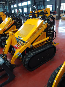 Rubber Tracked Mini Skid Steer Loader Hy380 pictures & photos
