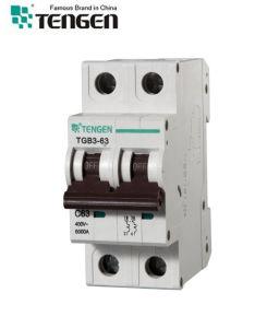 Tgb3 6ka Semko Certificated Mini Circuit Breaker MCB pictures & photos